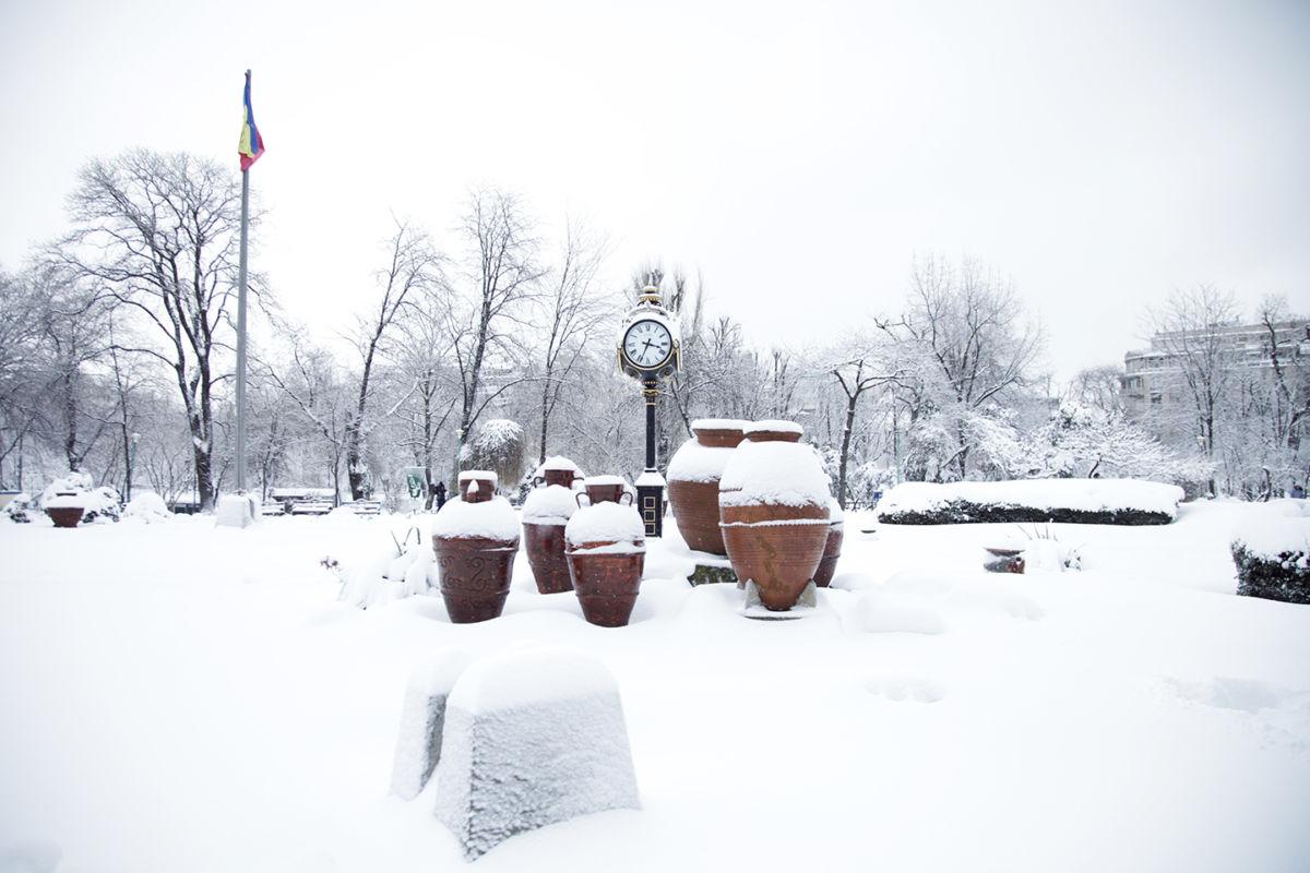Slow tours, snow tours. Winter in Bucharest