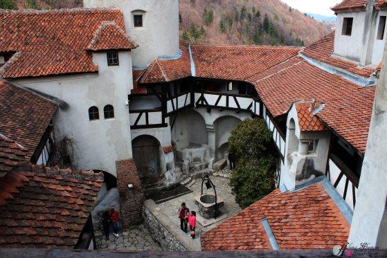 Interior courtyard - Bran Castle