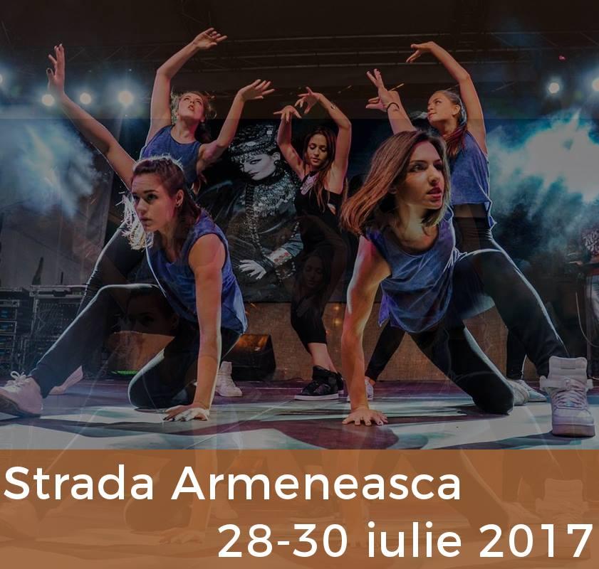 The Armenian Street Festival Bucharest