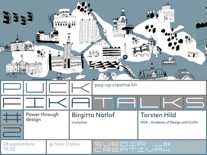 Bucharest Events – Fika Talks 2: Power through design
