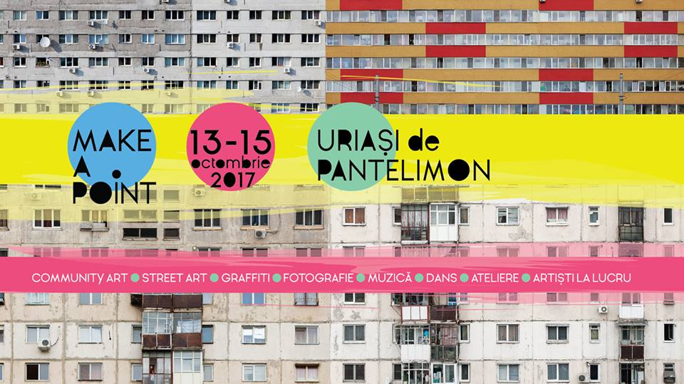 Giants of Pantelimon – community street art event