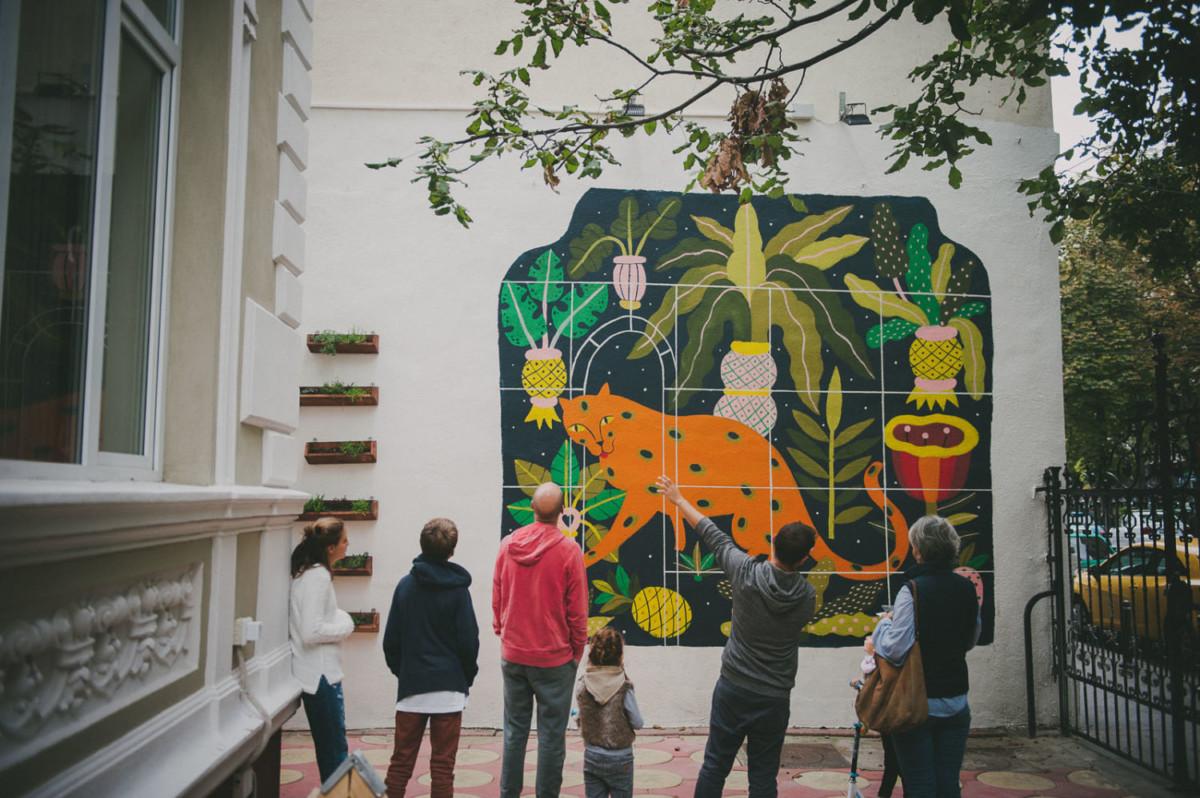 Exploreaza Bucurestiul prin arta stradala