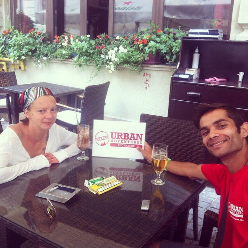 Meet: Sergiu, our local tour guide in Bucharest