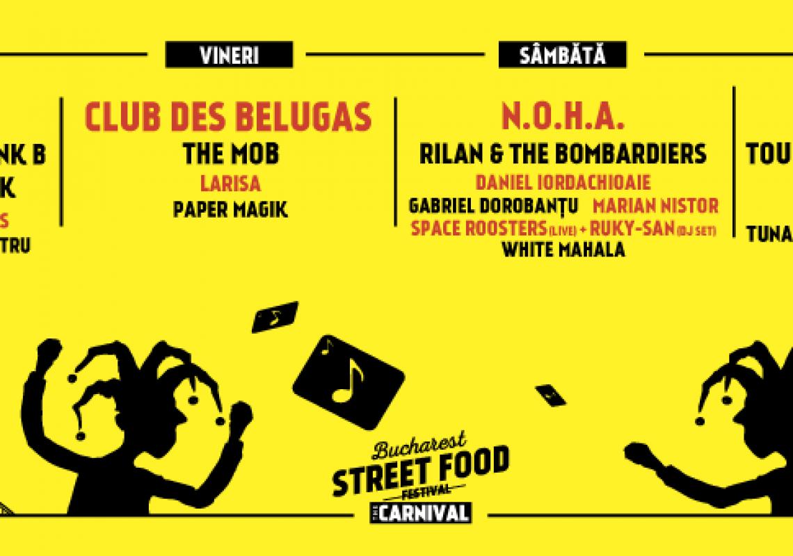 Bucharest Street Food Carnival