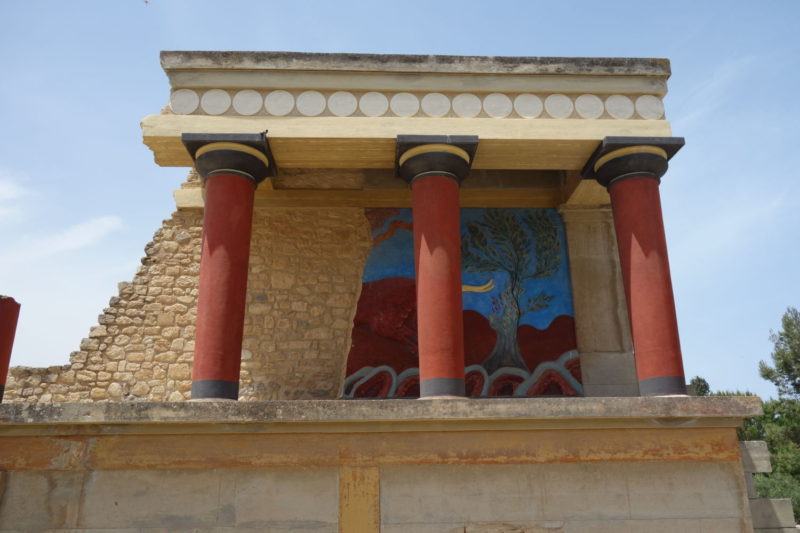 Knossos, Crete- the birthplace of one of the oldest civilisations: the Minoan Civilisation