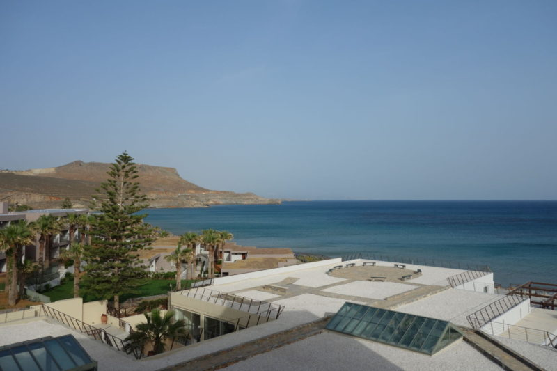 The famous beaches around Heraklion