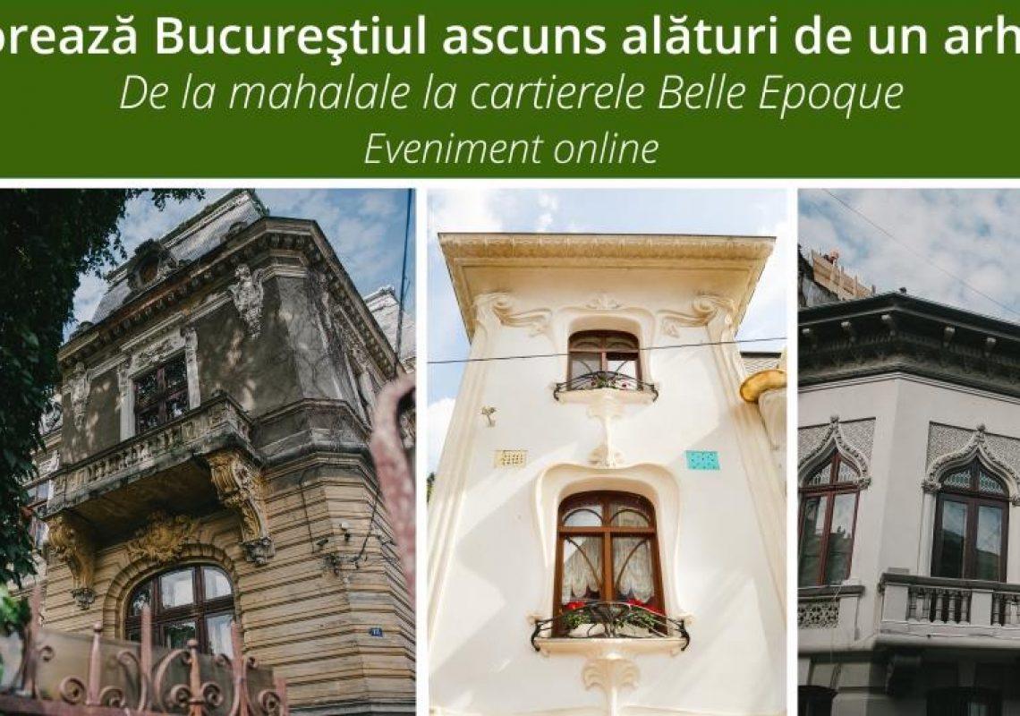 Explorează Bucureştiul ascuns alături de un arhitect!