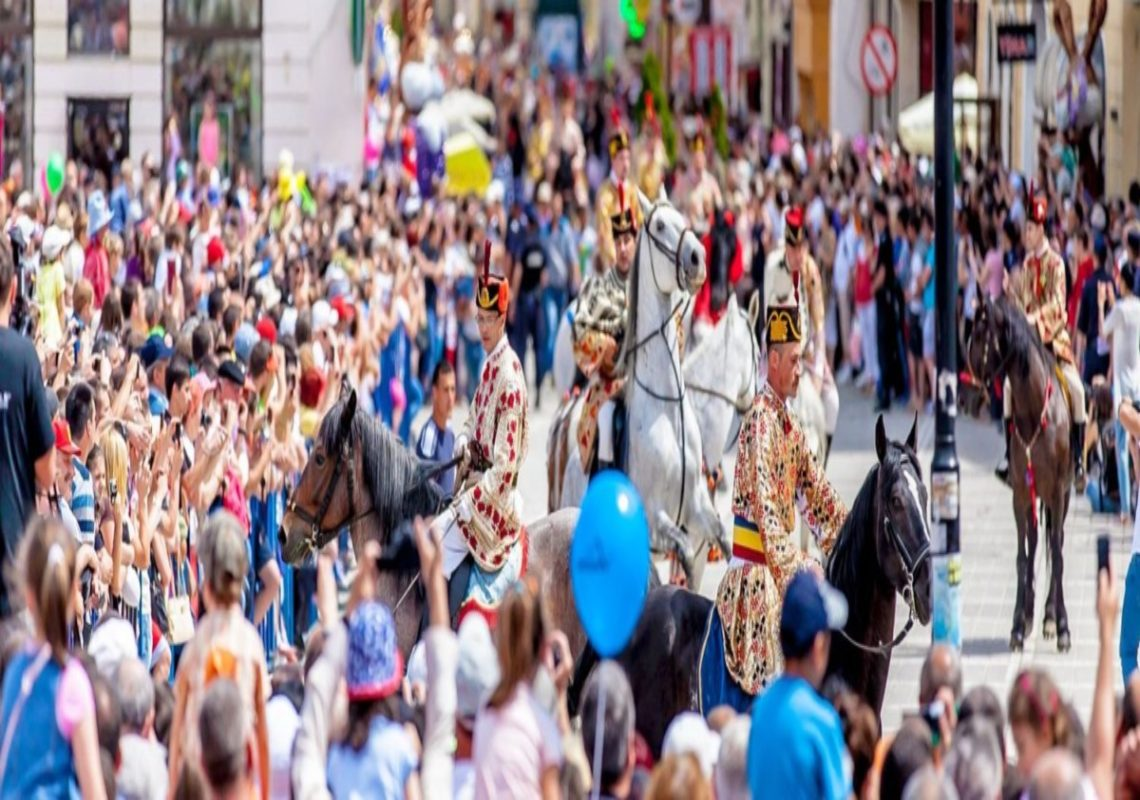 The Youngsters of Braşov Parade