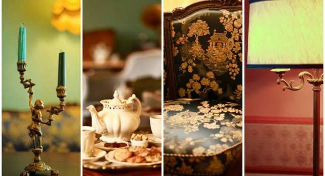 Cozy tea houses to hide from the coldness