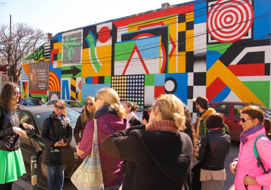 Explorează arta stradală în România