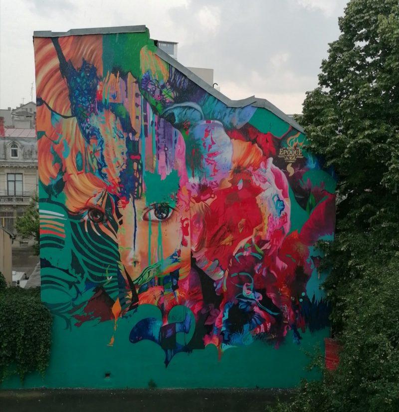Aurora Mural