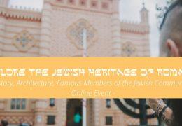 Explore the Jewish Heritage of Bucharest – online event