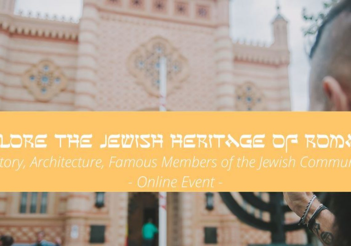 Explore the Jewish Heritage of Bucharest – online event