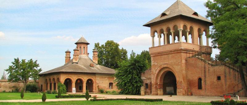 Mogosoaia Palace - Neo-Romanian/ Brancovenesc architectural style.