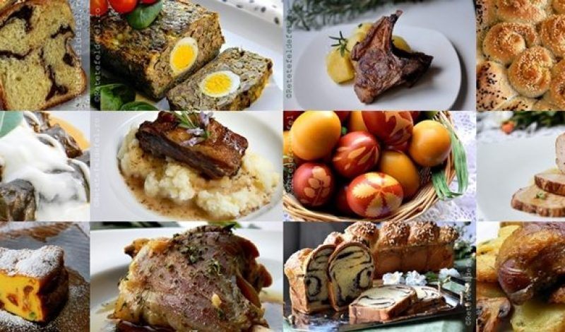 Traditional Easter dishes