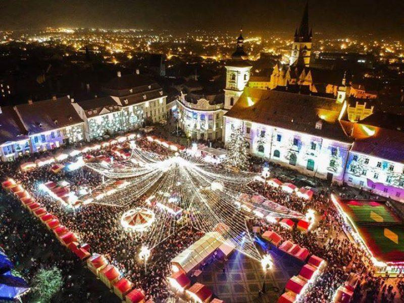 Sibiu Christmas Market 2017