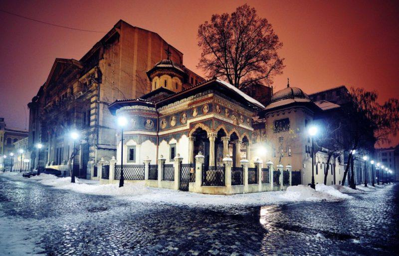 Stavropoleos Monastery - Neo-Romanian/ Brancovenesc architectural style.